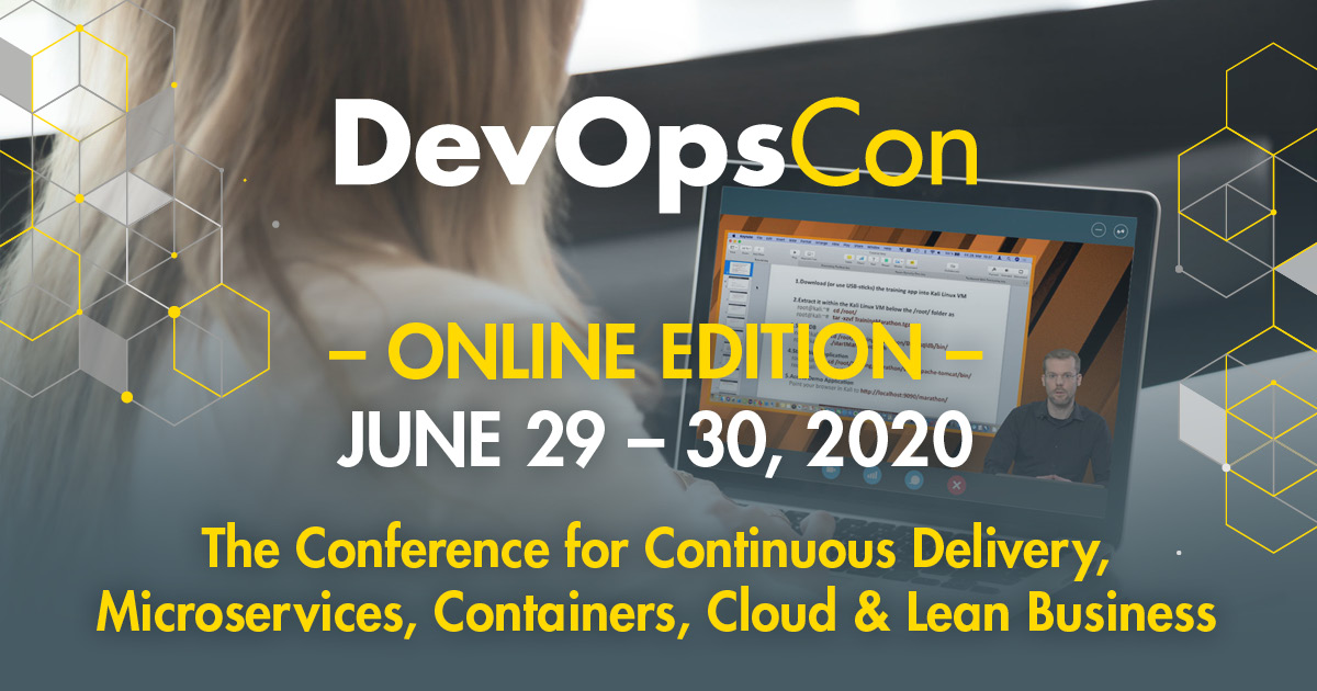 Online Edition 2020 Devops Conference